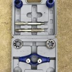 7 Piece Metric Ratchet Pipe Threading Kit