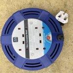 10 metre Cassette Reel – 4 socket