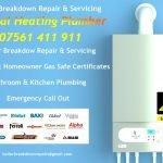 Boiler Breakdown Repair Boiler & Appliance Service Gas Safety Certificates General Plumbing for Kitchen & Bathroom
