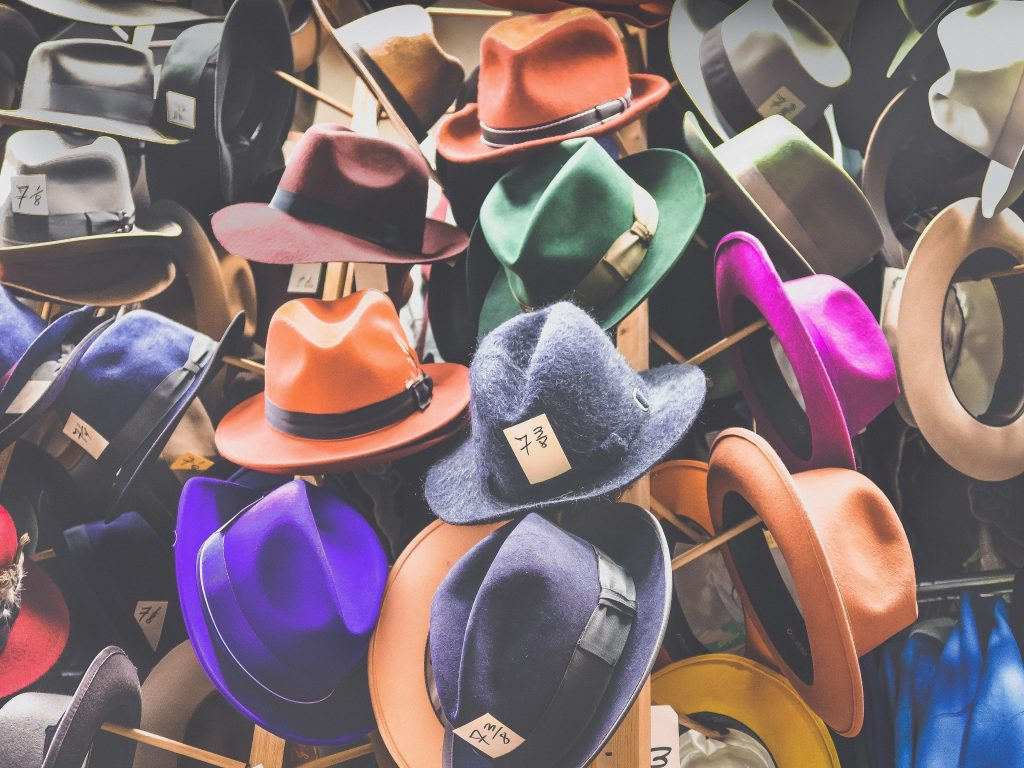 Do you wear a hat, tophat, or fancy dress costume to swagger your looks?