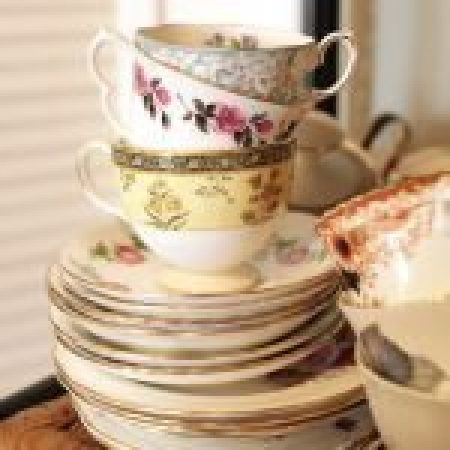 Vintage china tea sets-slide-1