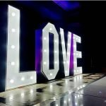 4ft LOVE Light letters for Hire