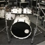 Tama Starclassic Maple Drum Kit – Piano White