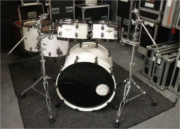 Tama Starclassic Maple Drum Kit – Piano White-slide-1