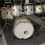 Yamaha Absolute Maple Custom Drum Kit – Silver Sparkle