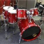 Yamaha Oak Custom Drum Kit – Red Sparkle