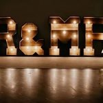 Rustic Light-up Letters