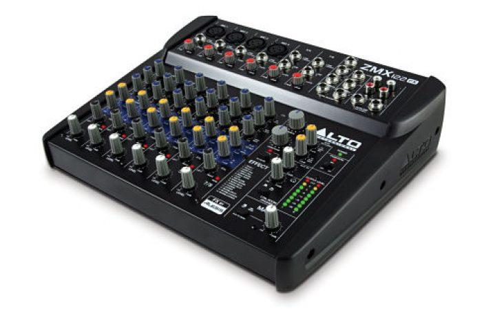 Alto ZMX 122FX 6 Channel Mixing Desk-slide-1