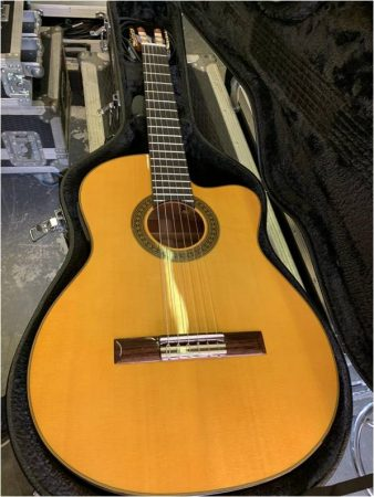 Angel Lopez Classical/Flamenco Acoustic w/Pick up-slide-1