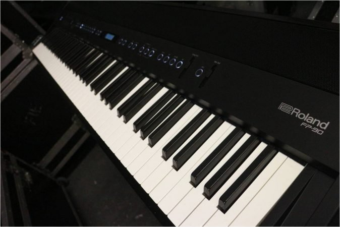 Roland FP-90 Weighted Piano Keyboard (In-Built Speakers)-slide-1