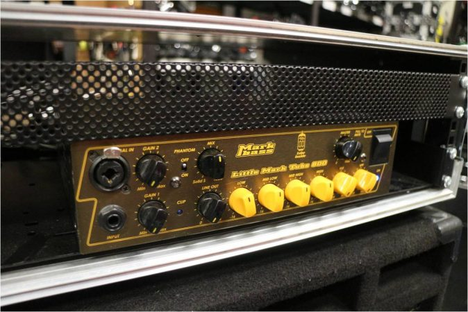 Markbass Little Mark Tube 800 Bass Amp-slide-1