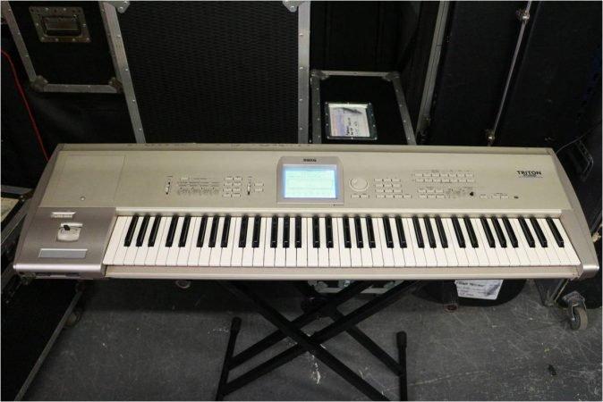 Korg Triton Studio 76 Non Weighted Keyboard-slide-1