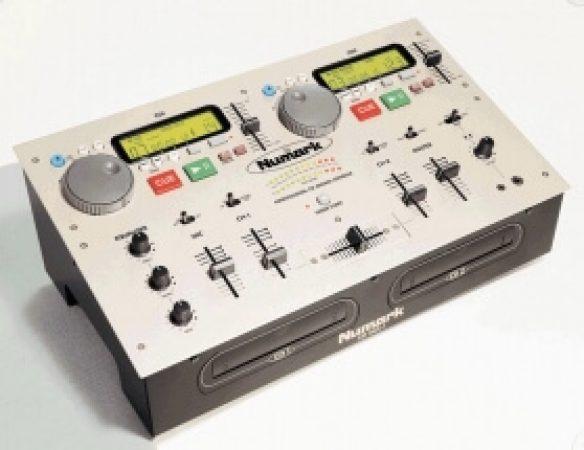 Numark Mixer and 2 CD Decks-slide-1
