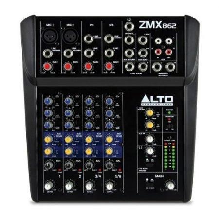 6 Channel Mixing Desk-slide-1