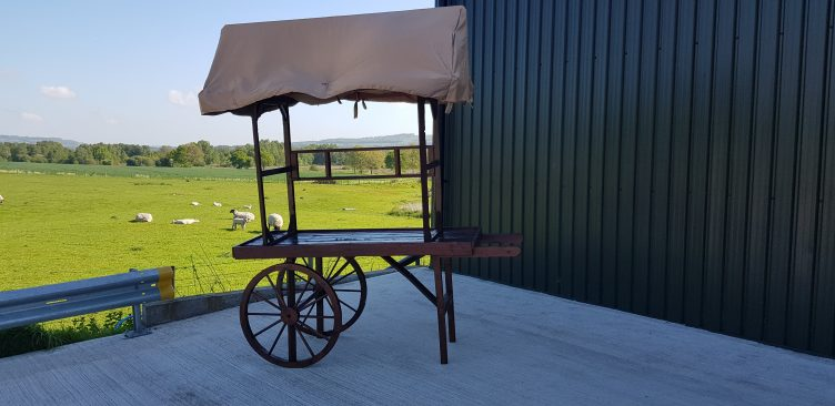 Rustic Cart Display for Hire-slide-1