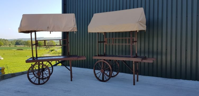 Rustic Cart Display for Hire-slide-2