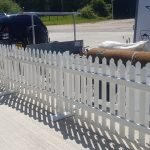 White Picket Fencing Hire 3ft x 1.8m