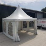 Marquee Hire 4m x 4m Oriental