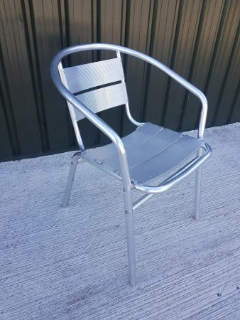 Aluminium Bistro Chairs for Hire-slide-1