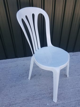 White Bistro Chairs for Hire-slide-1