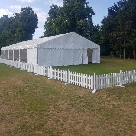 White Picket Fencing Hire 2ft x 1.6m-slide-1