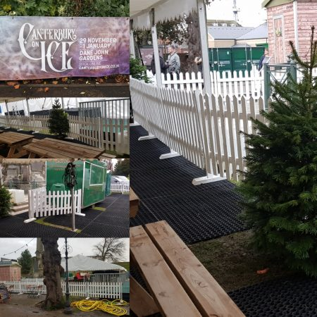 White Picket Fencing Hire 3ft x 1.8m-slide-2