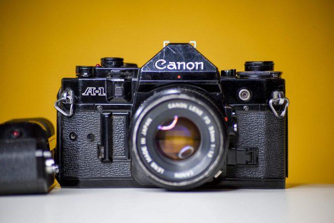 Vintage Camera Hire – Canon A1-slide-2