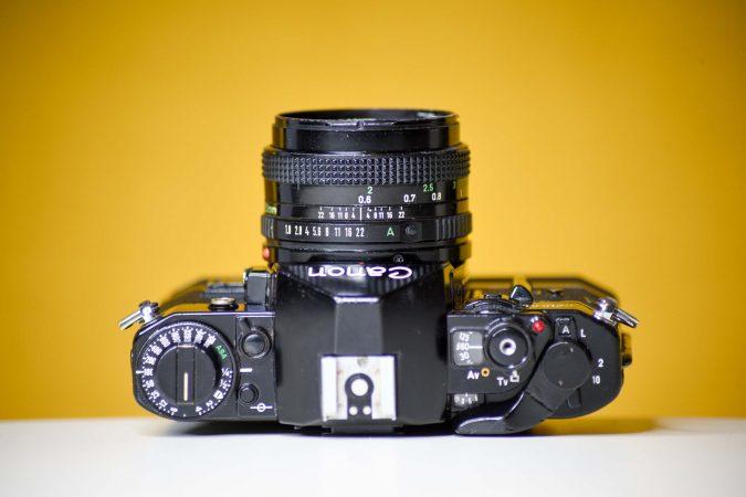 Vintage Camera Hire – Canon A1-slide-1