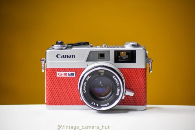 Canon Film Camera for hire (Canon Canonet QL17 GIII)-slide-1