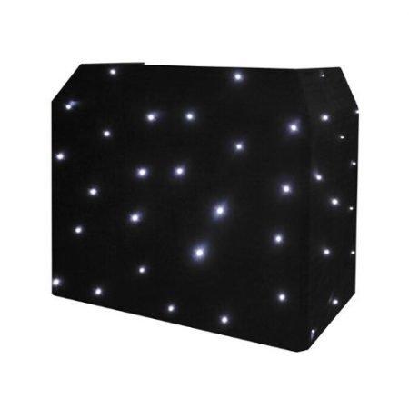 Black & White LED Starlight DJ Booth for HIre-slide-1