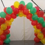 Table balloon arch
