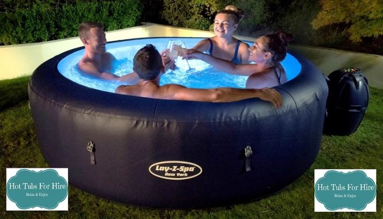 Hot Tubs for Hire Inflatable range (4-6 people)-slide-1