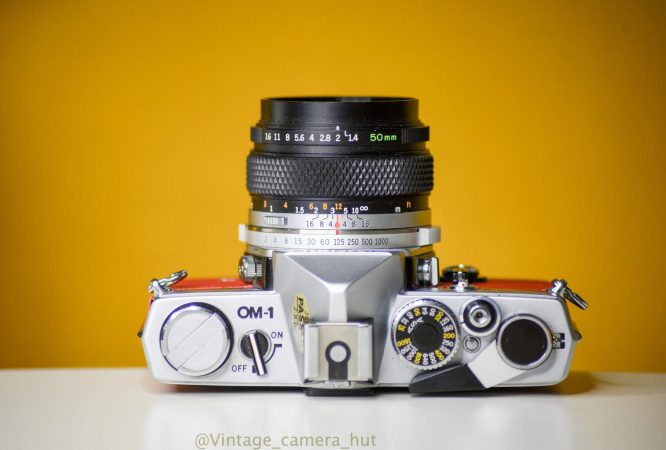 Olympus OM1 MD 35mm Film Camera for hire-slide-2