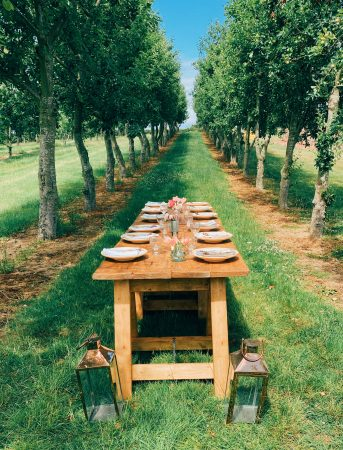 Rustic Trestle Table-slide-2