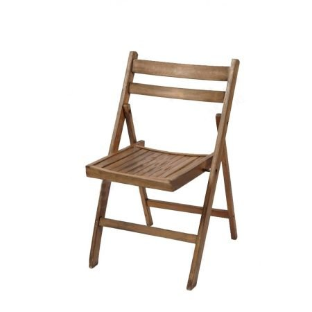 Rustic Wooden Folding Chairs-slide-1