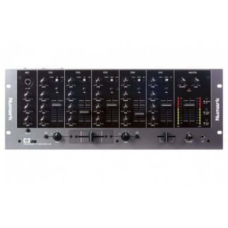 5 Channel DJ Mixer for Hire-slide-1