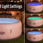Hire LED Mood Lighting with your Hot tubs
