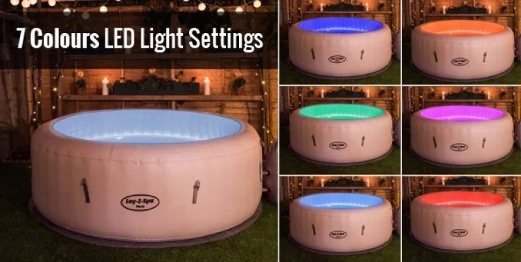 Hire LED Mood Lighting with your Hot tubs-slide-1