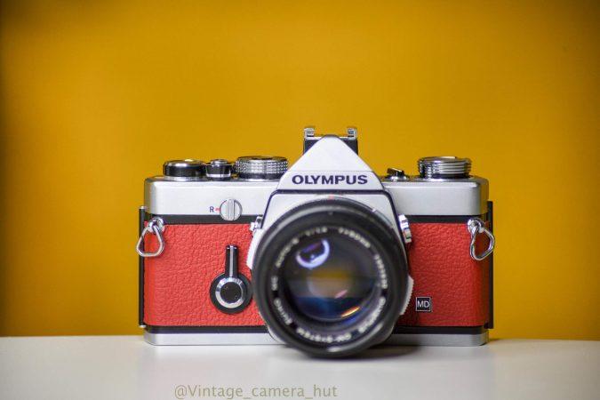 Olympus OM1 MD 35mm Film Camera for hire-slide-1