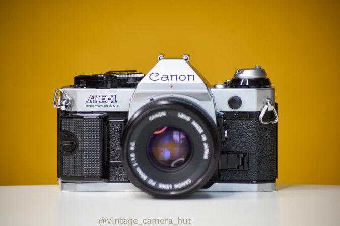 Canon AE-1 Program 35mm Film Camera for Rent-slide-1
