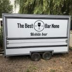 Mobile bar hire