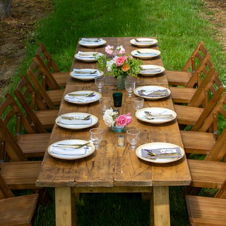 Rustic Wooden Folding Chairs-slide-3