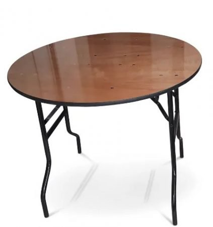 3 foot Round banqueting table-slide-1