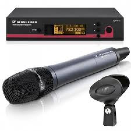 Hand Held Radio Microphone Kit for Hire-slide-1
