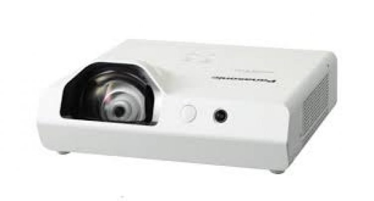 Panasonic Ultra Short Throw Projector for Hire-slide-1