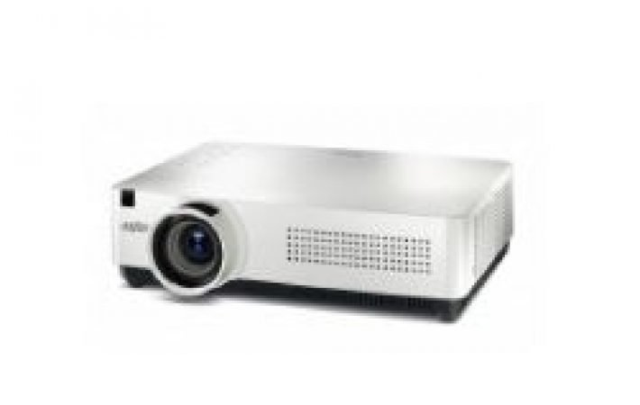 Lumen short throw projector for Hire-slide-1
