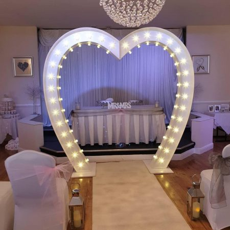 8ft LOVE HEART LIGHT UP ARCH-slide-3