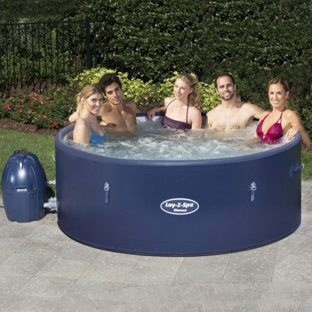 Hot Tubs for Hire  -Lay-Z-Spa Monaco AirJet-slide-1