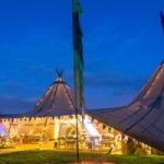 3 Big Hat Tipi Hire