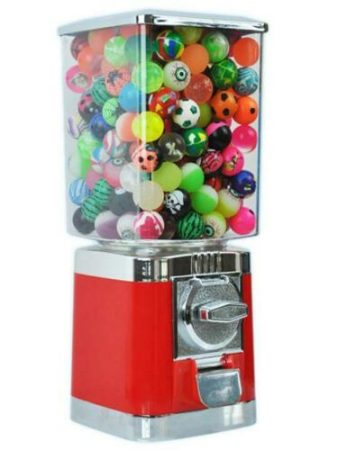 Hire Bouncy Ball Vending Machine. Coin Operated at £0.20 – Funfair Rentals Limited-slide-1